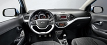 New Kia Picanto Interior Revealed