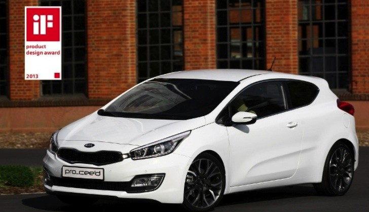 New Kia pro_cee'd Wins iF Design Award