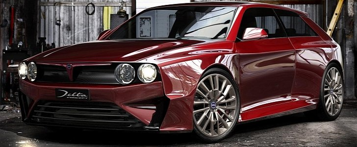 New Lancia Delta Integrale Trumpeted by FCA Sources - autoevolution