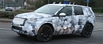 New Land Rover Freelander (LR2): First Spyshots in the UK