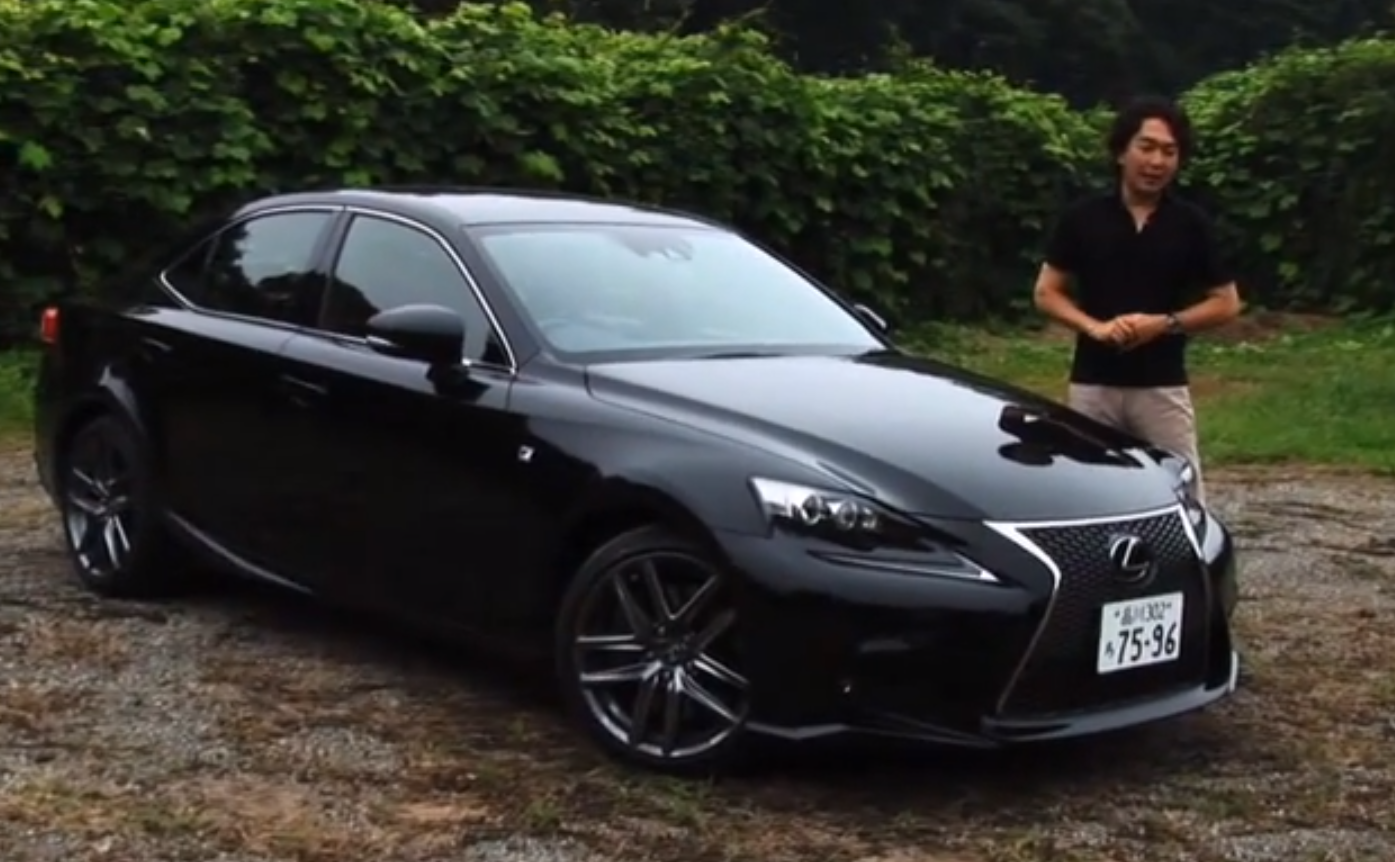new lexus is 350 f sport reviewedgazoo tv - autoevolution