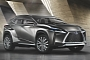 New Lexus LF-NX Concept To Be Showcased at Frankfurt