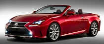 New Lexus RC Rendered as Convertible