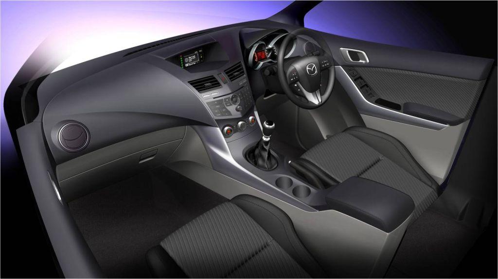 2011 Mazda Bt 50 Interior Revealed Autoevolution