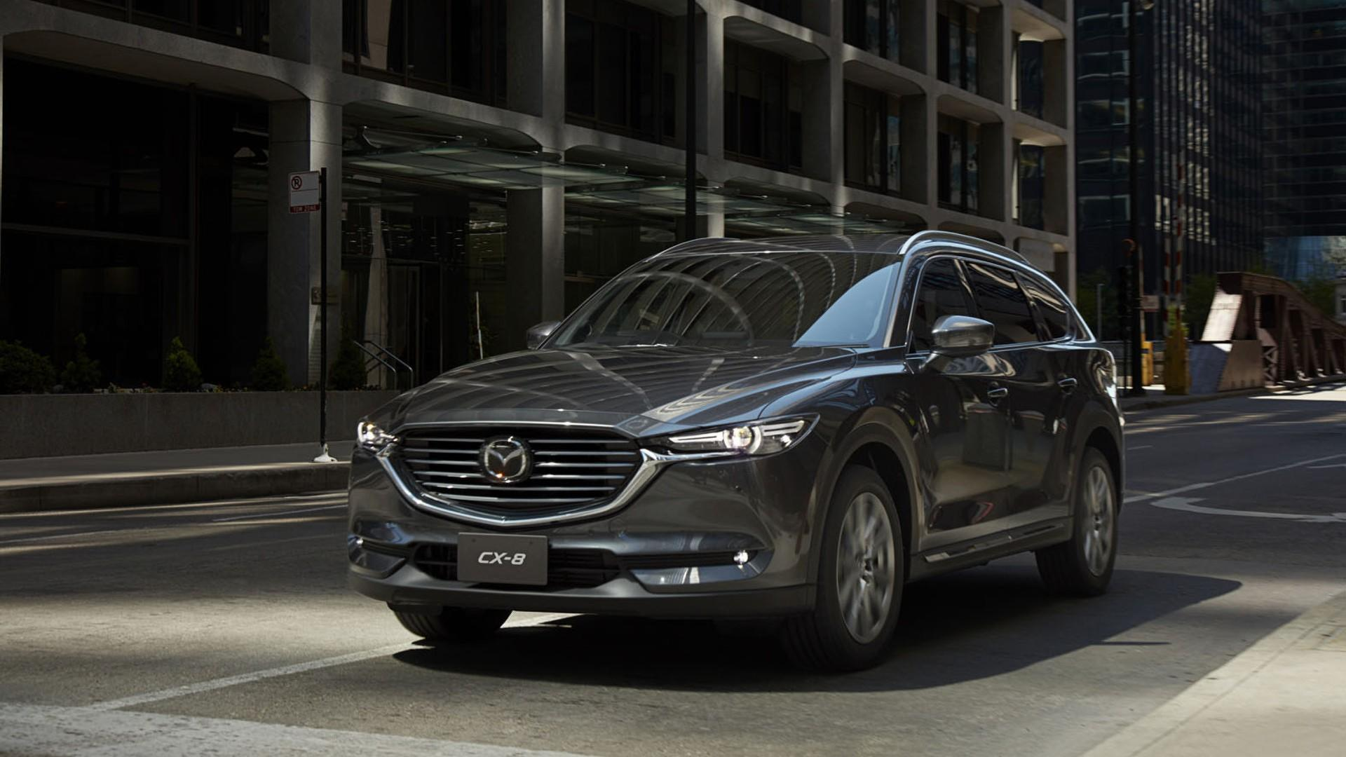 ... 2018 Mazda CX 8 Seven Seat Crossover (Japan Spec Model) ...