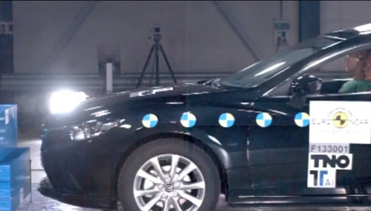 New Mazda6 Receives 5-Star Euro NCAP Safety Rating [Video]