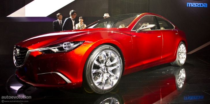 New Mazda6 Will Debut at 2012 Paris Auto Show