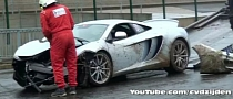 New McLaren MP4-12C Crashed at Spa Francorchamps