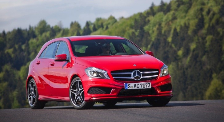 New Mercedes A-Class Arrives in September 2012