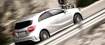 New Mercedes A-Class Becomes Spectacular Camera Car [Video]