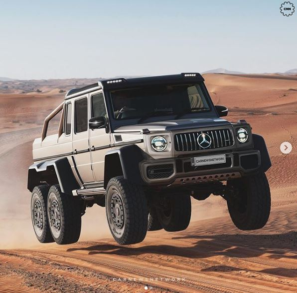 G63 Amg 6X6 >> New Mercedes Amg G63 6x6 Is An Absolute Monster Autoevolution