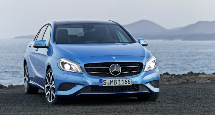 New mercedes benz a class gets 70 000 orders from western for Mercedes benz europe