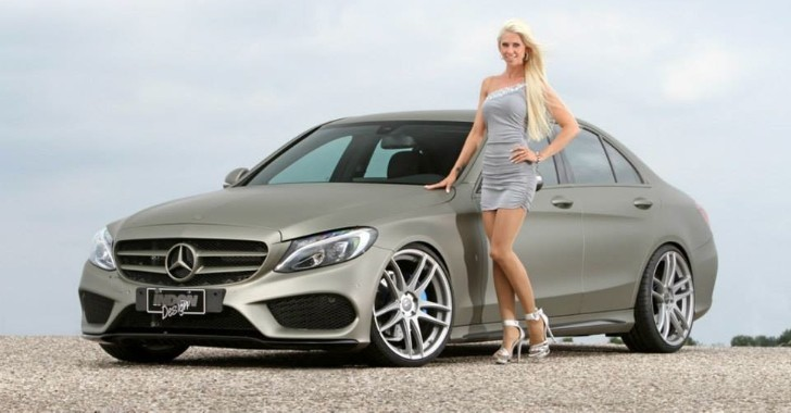 New mercedes benz c class sedan w205 tuned by inden for Mercedes benz c500 price