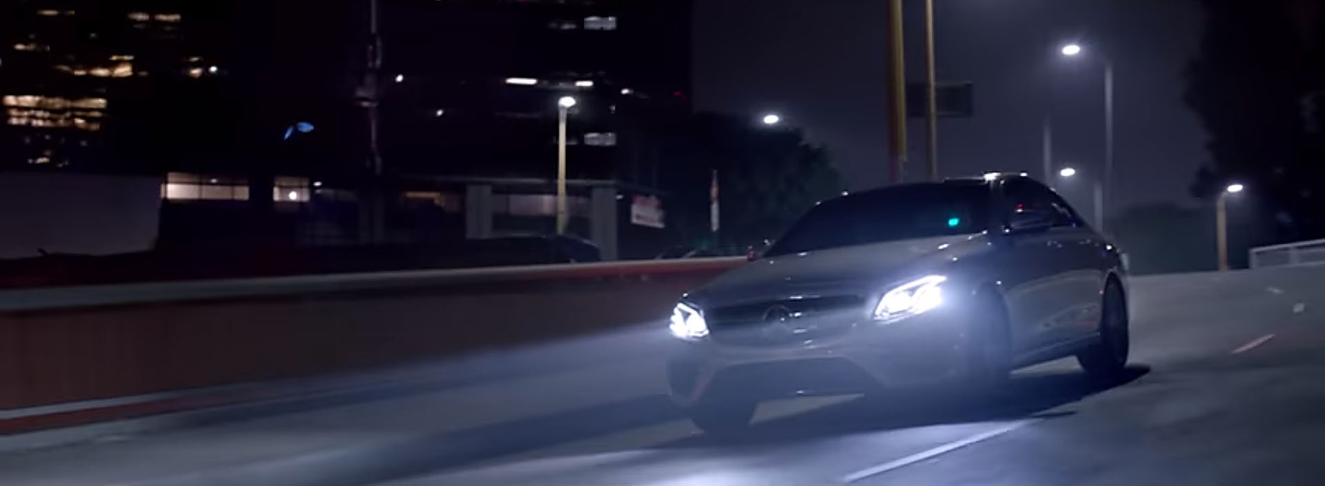 New mercedes benz e class commercial doesn 39 t make for New mercedes benz commercial