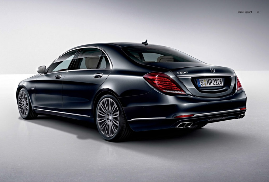 new mercedes benz s 600 v222 leaked brochure photos
