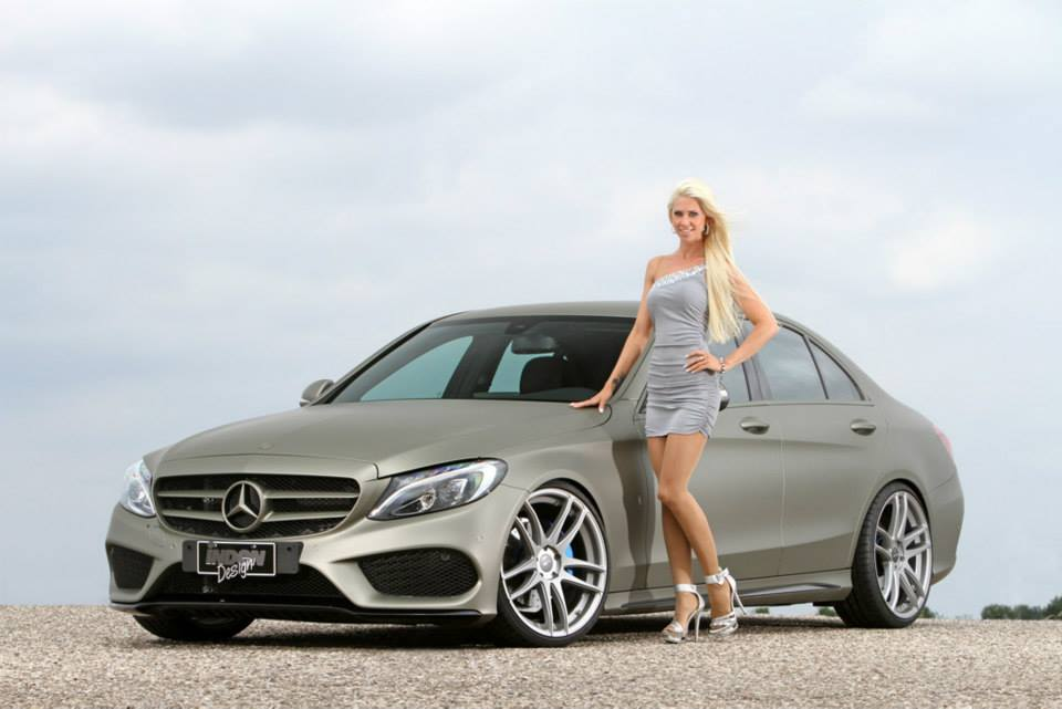 New Mercedes Benz C Class Sedan W205 Tuned By Inden