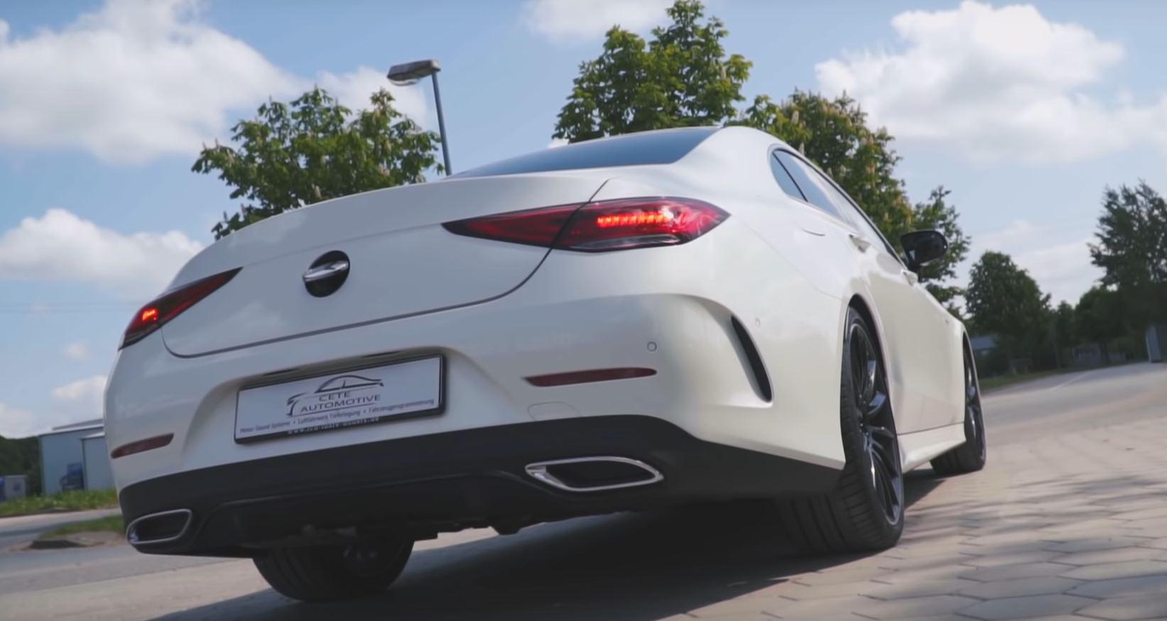 New Mercedes CLS 400 d Gets Active Exhaust Sound, Diesel