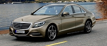 New Mercedes S-Class Renderings Released