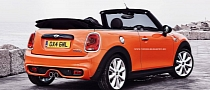 New MINI Cooper S Convertible Rendered