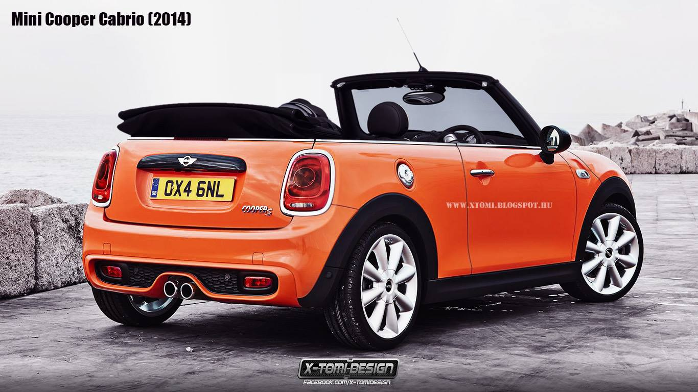 new mini cooper s convertible rendered autoevolution. Black Bedroom Furniture Sets. Home Design Ideas