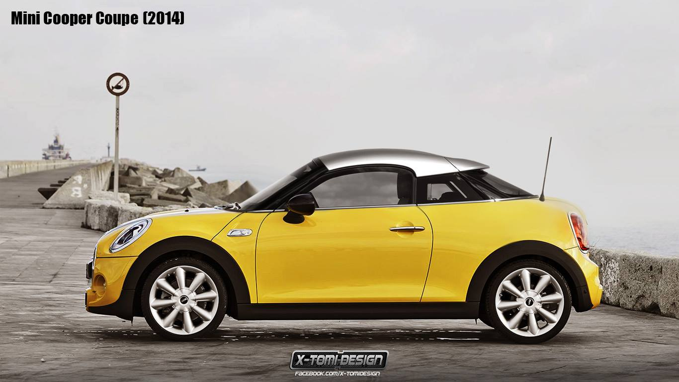 new mini coupe and roadster models rendered autoevolution. Black Bedroom Furniture Sets. Home Design Ideas