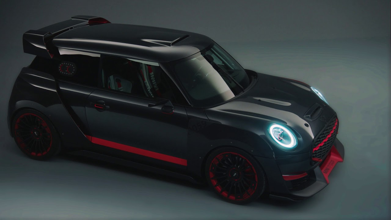 new mini jcw gp concept looks too good to be true in first videos autoevolution. Black Bedroom Furniture Sets. Home Design Ideas