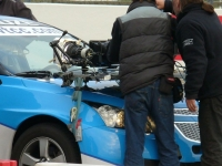 The Cruze WTCC before the stunt