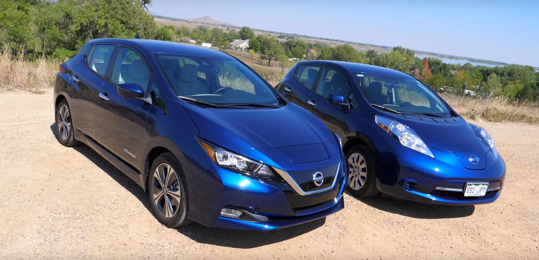 New Nissan Leaf Vs Old Nissan Leaf Some Things Are The Same