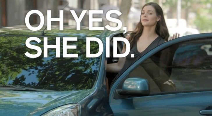 New Nissan Micra Commercial: Keyless Entry / Bag Duel [Video]
