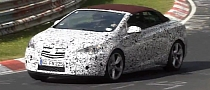 New Opel / Vauxhall Astra J Cabrio Spied [Video]