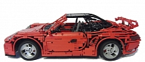 New Porsche 911 Built from LEGO with PDK Gearbox [Photo Gallery] [Video]