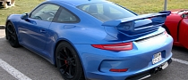 New Porsche 911 GT3 – Real Life Photos from France [Photo Gallery]