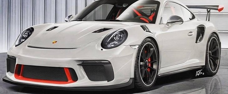 New Porsche 911 GT3 RS (991.2) Accurately Rendered, Manual Gearbox Denied