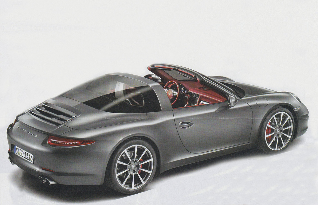 New Porsche 911 Targa: This Could Be It - autoevolution