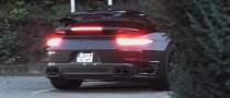 New Porsche 911 Turbo Cabriolet Filmed While Retracting Roof [Video]