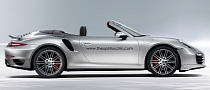 New Porsche 911 Turbo Convertible Rendered