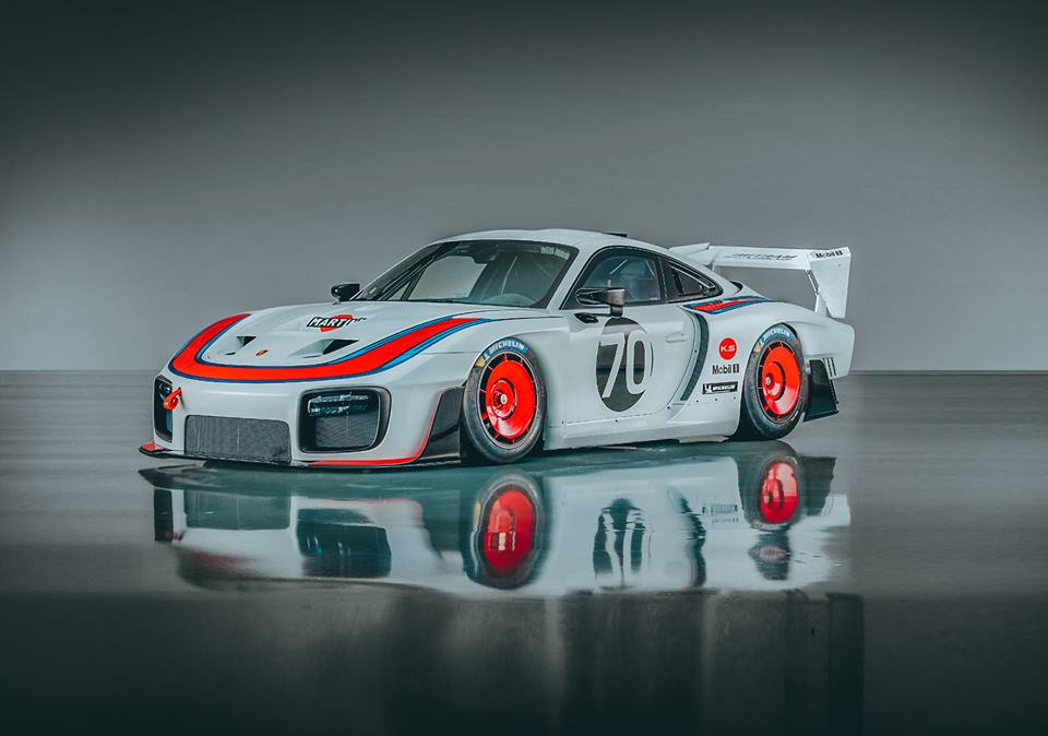 New Porsche 935 Rendered With Original Moby Dick Wing