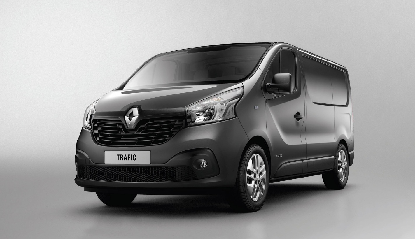 new renault trafic to debut at cv show 2014 autoevolution. Black Bedroom Furniture Sets. Home Design Ideas