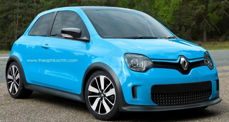 New Renault Twingo Rendered… But Could It Be the 5 Reborn?