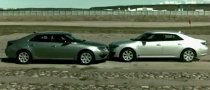 New Saab 9-5 In-House Crash Test [Video]