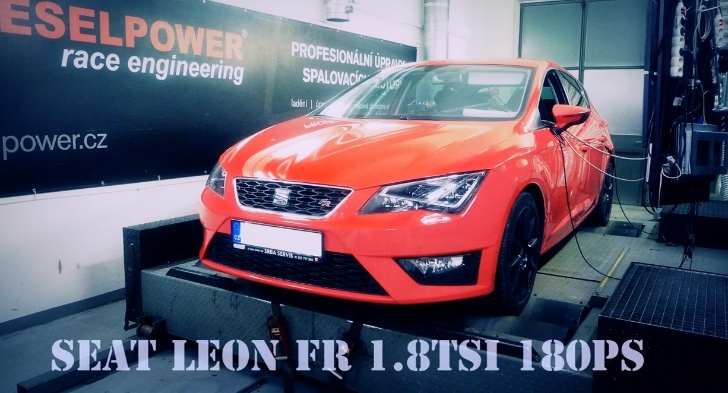 new seat leon 1.8 tsi chip-tuned to 234 hp - autoevolution
