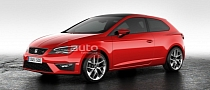 New SEAT Leon SC (Sports Coupe) Three-Door First Photos