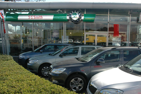 New Skoda Showroom Launched In The Uk Autoevolution