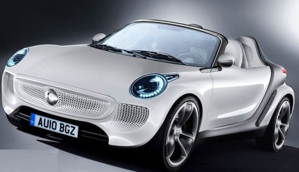 new smart roadster prepares to hit showrooms in 2012. Black Bedroom Furniture Sets. Home Design Ideas
