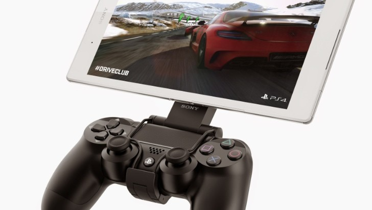 New Sony Z3 Tablet with PlayStation 4 Controller Is ...