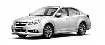 New Subaru Legacy Unveiled in China [Photo Gallery]