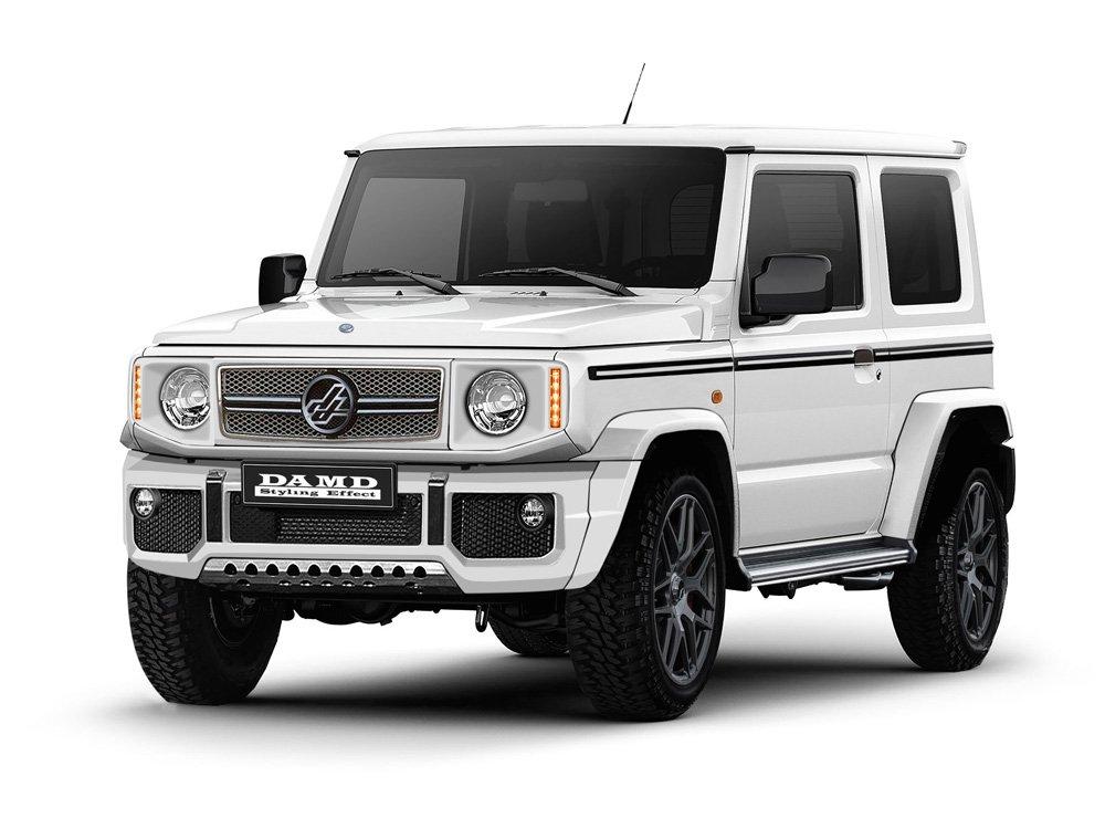 2020 Suzuki Jimny: News, Design, Release >> New Suzuki Jimny Impersonates G Class Defender In Japan