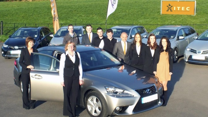 New Toyota and Lexus Hybrids for Itec Fleet in the UK