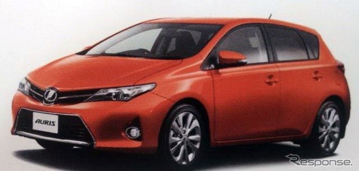 New Toyota Auris Leaked Brochure Photos [Photo Gallery]