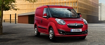 New Vauxhall Combo Panel Van Unveiled
